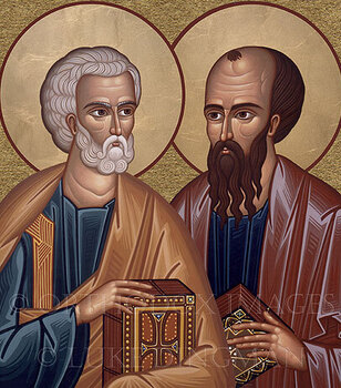 June 29 The Solemnity of Saints Peter and Paul, Apostles