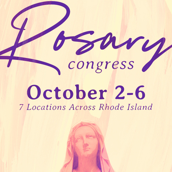 Join us in our second annual Rosary Congress!
