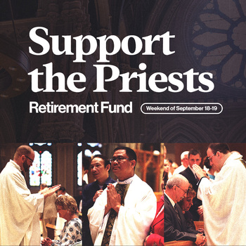 This weekend - the Senior Priest Retirement Fund