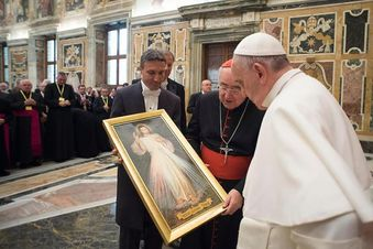 Pope Francis explains what World Youth Day has to do with Divine Mercy