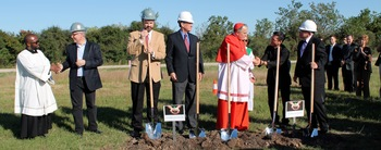 A 'beacon of Christ's mercy,' St. Faustina Church breaks ground in Fulshear