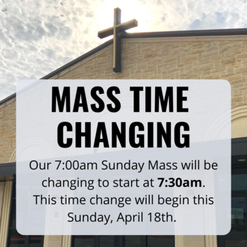 New Mass Time