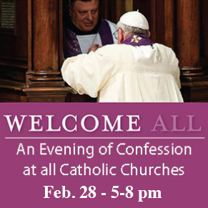 Evening of Confession - Feb. 28