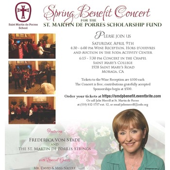 Spring Benefit Concert for the Scholarship Fund