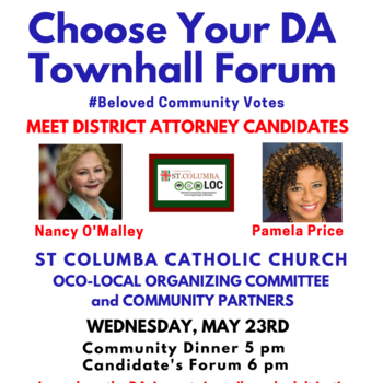 Choose Your DA Community Townhall Forum Beloved Community Votes