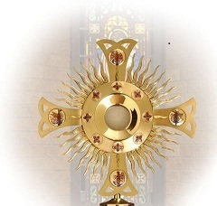 Exposition of Blessed Sacrament