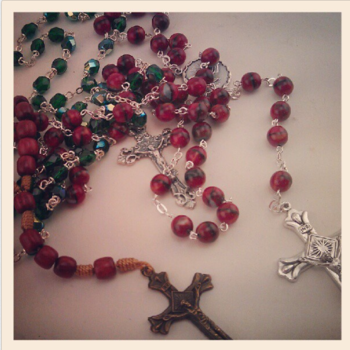 Rosary in The Grove