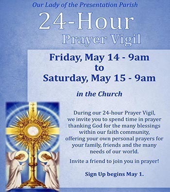 24-Hour Prayer Vigil