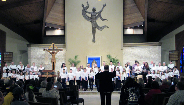 Liturgy & Music at Our Lady of the Presentation - Our Lady