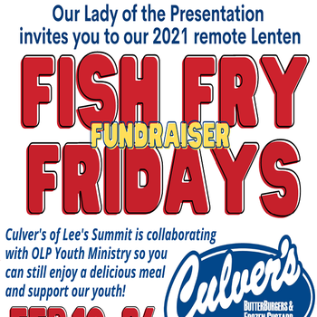 Fish Fry Fridays Fundraiser with Culver's
