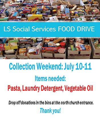 Lee's Summit Social Services Food Drive
