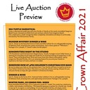Crown Affair Live Auction Preview