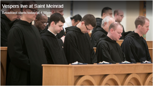 st meinrad mass and vespers
