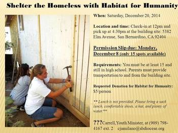 Youth helps Habitat for Humanity