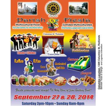 Annual Parish Fiesta at Columbia