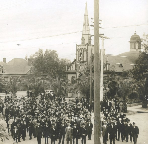 Knight of Columbus, Sacred Heart Church-Redlands 1910