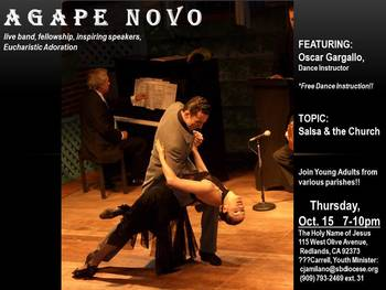 AGAPE NOVO: Salsa & the Church