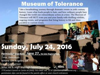 Visit the Museum of Tolerance