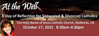 At the Well-Day of Reflection for Separated or Divorced