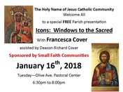 Presentation of ICONS: Window to the Sacred