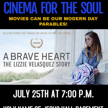 Cinema for the Soul Movie Night-The Lizzie Velasquez Story