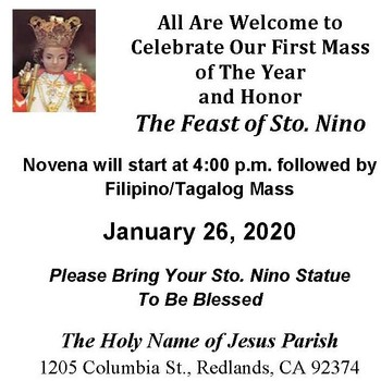 Santo Niño Filipino Mass