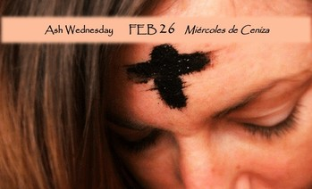 Ash Wednesday Schedule - English