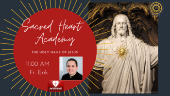 Sacred Heart Academy Mass LIVE with Fr Erik