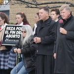 Bishop prays at 40 Days for Life