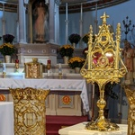 Blessed Jerzy relic in diocese