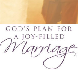 God's Plan for a Joy-Filled Marriage seminar for engaged couples