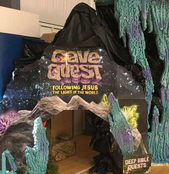 Local churches share VBS decorations while sharing their faith with children
