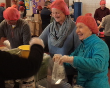 Shrewsbury parish service project feeds 40,000