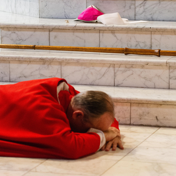 Bishop, parishes addressing abuse crisis with prayer, action
