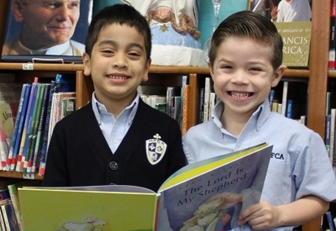Students in the Early Childhood Program are encouraged to be active readers.