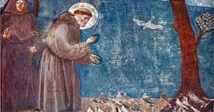 St Francis Preaching to the Birds of Creation
