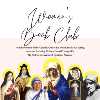 Spring Book Club - My Sisters the Saints: A Spiritual Memoir