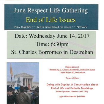 June Respect Life Gathering