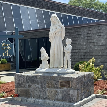 Our Lady of Life Garden Dedication