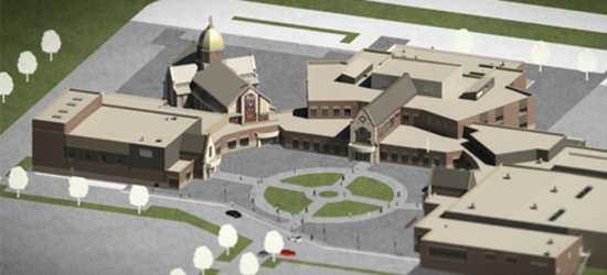 Architectural Rendering of the New SMCHS