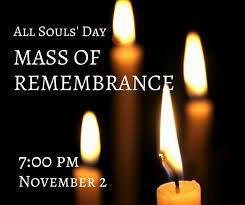 WWPR Mass of Remembrance