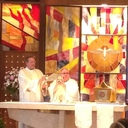 Family Eucharistic Holy Hour Presentations at Holy Trinity School in Robinson Township, Pennsylvania