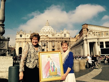 On Mission to Medjugorje and Rome - Rome 2015