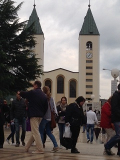 On Mission to Medjugorje and Rome - Medjugorje 2015