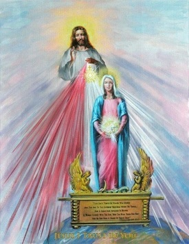 divine mercy original painting