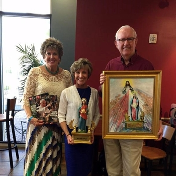 Pat and Bernadette at Ave Maria University - 2016 Marian Eucharistic Conference - May 20 - 22