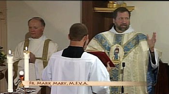 Solemn Mass for the Feast of the Assumption and 35th Anniversary of EWTN.