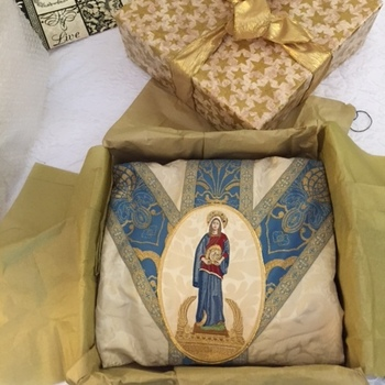 Vestments Gifted to EWTN for their 35th Anniversary