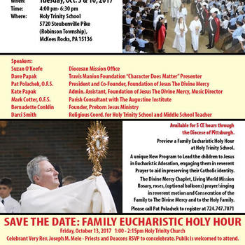 Family Eucharistic Holy Hour