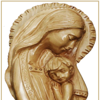 Holy Land Gifts Olive Wood Carvings for sale on Palm Sunday